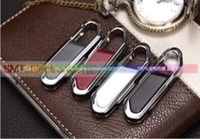 Wholesale Generic Hanging Buckle Leather GB USB Flash Memory Pen Drive Stick Drives U Disk Sticks Pendrives Thumb Drives