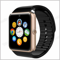 Wholesale GT08 Smart Watch With Camera Monitoring Sleep Sedentary Reminder For iPhone Samsung Galaxy Compatible Platform IOS Android MQ30