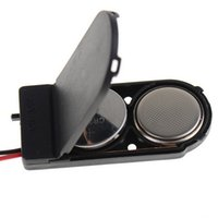 battery holder button cell - Black Color CR2032 Button Coin Cell Battery Socket Holder Case Cover ON OFF Switch VEH53 P0