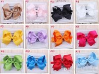Wholesale New Baby Infant Butterflies headband Girls Boutique Bow New Comer Hairband Headband Hair accessory color for choose Photo Prop L137