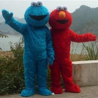 Costume de mascotte de Elmo