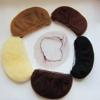 SY100 beard net - whole sale hairnet mm nylon hair nets invisible disposable hair net inch five colors mix color beard cover