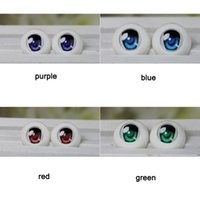 acrylic safety eyes - Toy Eyes Safety Eyes For Toys SD BJD Acrylic Eye Doll Cartoon Pair mm mm mm For BJD Doll Accessories