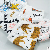 Wholesale Miracle Baby cotton Layers cm Soft Cozy Square Feeding Towel Face Hand Towel Wipe for Newborns Unisex