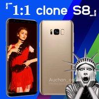 Wholesale New Arrival Goophone Unlocked Clone S8 s8 phone MTK6580 bit Quad Core Dual SIM Show g lte GB RAM GB GB ROM Android Smartphone