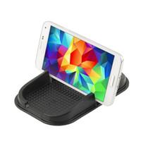aluminium car mats - Newest Fancy Black Car Stylist Sticky Pad Mat Anti Non Slip Gadget Phone GPS Holder
