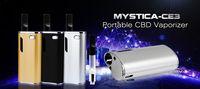 Wholesale Mystica mini cbd box vaporizer starter kit with CBD Atomizer Cartridge O Pen CE3 and mini VS H10 Bin Vaporizer