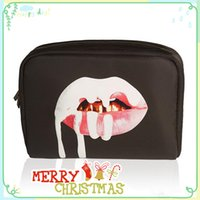 Wholesale Kylie Jenner Make Up Bag Birthday Collection Makeup Bag Kylie Lip Kit Bag High Quality Christmas Day Gift
