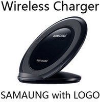 Wholesale New Vertical Fast Charge wireless charger charging stand For Samsung Galaxy S6 Edge plus S7 Edge plus Note with logo package