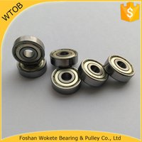 Wholesale Chrome Steel GCR15 zz Small Bearings Supply Ball Bearing For Sale pc