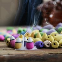Wholesale Household Natural Backflow Incense Fragrant Reflux Aromatherapy Cones