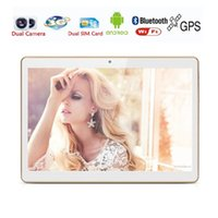 Wholesale New inch G G Lte Tablet PC Quad Core G RAM GB ROM Dual SIM Cards M Camera IPS Tablets Gifts