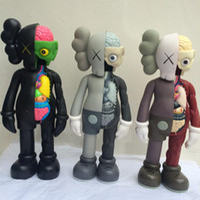 Wholesale 37cm High Quality Japanese Originalfake Kaws Companion inch PVC Action Figure Model Toys Gifts