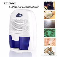 auto cool display - Portable Mini Semiconductor Dehumidifier Desiccant Moisture Absorbing Air Dryer Thermo electric Cooling for Wardrobe Home Bathroom Kitchen