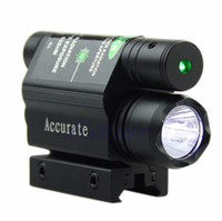 Wholesale Tactical Green Laser Beam Sight LED Flashlight For Gun Rifle Pistol Hunting