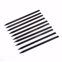 Wholesale Black Anti Static Plastic Spudger Nylon Stick cm Pry Crowbar Opening Tool for iPhone iPad Samsung Smartphone Repair