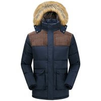 Wholesale 2016 Winter Brand Men Down Jacket Fur Hood With Cashmere Plus Size XL Winter Jacket High Quality Fashion Men s Coat Hot Sale