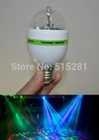 Wholesale W LED Rotating RGB Lamp V Crystal Stage Auto Full Color Effect Light Bar Light KTV Dancing Light BulbLamp
