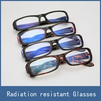 Wholesale 2017 Men Women Anti radiation Reading Glasses Anti fatigue Computers Glasses New Style Eyeglasses Eye Protective Safety Goggles No Degrees