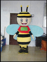 bee fancy dress costumes - bee Mascot Costume custom horney cartoon character cosply adult size carnival costume fancy dress party kits