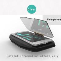 Wholesale Universal Mobile GPS Navigation Bracket HUD Head Up Display For Smart Phone Car Mount Stand Phone Holder