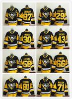 Wholesale 2016 Stitched Jerseys Sidney Crosby Winter Jerseys for men Phil Kessel Mario Lemieux Ice Hockey jerseys sale drop shipping