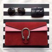 artwork covers - Luxury brand designer full leather high grade wine god hand bag envelope design brief vogue female bag cm