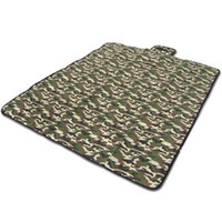 barbecue equipment - Portable Waterproof Outdoor Camouflage Picnic Barbecue Mat Pad Beach Camping Equipment Baby Climb Blanket Family cm