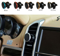 Wholesale Universal Car Air Vent Mount Holder Magnetic Cradle Holder Stand For Cell Phones magnetic car mount kit