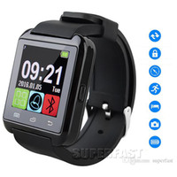 IOS - Apple Portuguese Altitude Meter Bluetooth Smartwatch U8 Watch Wireless Bluetooth Smart Watch U8 Watch WristWatch For Samsung NOTE4 Android Phone Smartphones With Retail BOX