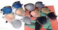 beautiful eye glasses - Fashion Eyewear Shades Sunglasses High Quality Metal Sunglasses Men Women Glasses Women Sun glasses UV400 Unisex With Beautiful Box