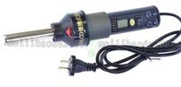 adjustable nozzle - 220V W Degree LCD Adjustable Electronic Heat Hot Air Gun Desoldering Soldering Station IC SMD BGA Rework Nozzle LCD