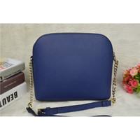 Wholesale Hot sale Fashion women famous brand Genuine Leather Shell Bag luxury Messenger bags Purse crossbody one Shoulder chain bag tote handbag