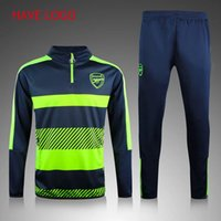 adult football equipment - 2016 Soccer Equipment Tracksuit Football arsenal survetement New Men Adults Track suits chandal treino tuta sportiva Maillot