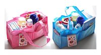 18 cm baby organiser - New Baby Boy Girl Organiser for Mommy Diaper Bag Portable Nappy Maternity Handbags Inner Container Medium Size Solid Color