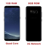 Goofón s8 borde 1 GB Ram 8 GB Rom Quad Core s8 Cellpohones Mtk6582 Red 3G Metal Frame S8 teléfono inteligente vs S7 Edge