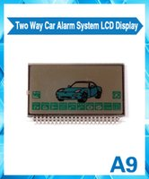 Wholesale Starlionr A9 LCD display for Two way car alarm system Starlionr A9 remote controller