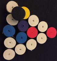 Wholesale Grips Grips Overgrip tennis plane surface dullpolish mat fish pole pod grips Tennis Racket Overgrip Badminton colors