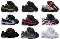 Wholesale 2016 Fashion max II Mens Running Shoes White Black High Quality maxes Outdoor Sports Shoes Athletic Sneakers Eur