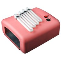 Wholesale 36W Nail Lamp Dryer Gel Curing Manicure UV Lamp W Light Tube Equipment Tools Nail Art Tools Kit For Salon