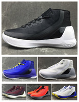 Wholesale Curry official Version Basketball Shoes for Mens Hiking Shoes High quality Stephen III Sports Sneakers Curry Shoes Size