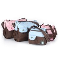 best baby bags designer mwc5  Wholesale-2pcs High quality Mother Bag Designer Women fashion diaper bag  Multifunctional nappy bag for mommy baby storage mama bags