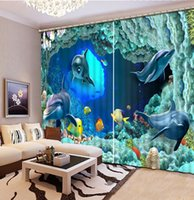beautiful kitchen photos - Photo Fashion D Home Decor Beautiful window curtain for living room ocean dolphin
