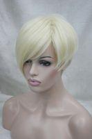 average fashion model - new Fashion high end asymmetric fashion model blonde everyday life wigs