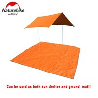Wholesale Naturehike person outdoor tent mats camping ground cloth sun shade sun shelter awning foldable beach mat picnic mat