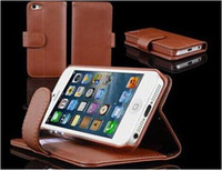 best iphone leather wallet case - one for allen dhl shipping new arrival For Allen new leather phone case packing box cases best quality