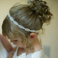 barrett hair clip - 2017 Fashion Barrette Hair Clip for Girl Baby Infant Rhinestone Crystal Headband Barrett Clips For Hair Accessories Headwear