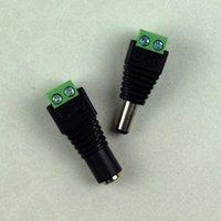 Wholesale 1Pair CCTV Cameras x mm Male Female DC Power Plug Jack Adapter Connector Plug