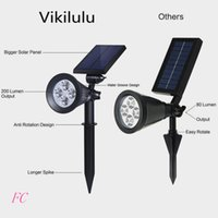 Wholesale A new solar LED lamp lumens plug wall lamp outdoor courtyard garden