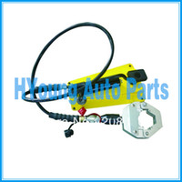 ac hose crimper - automotive air Hose fitting foot operated hydraulic ac hose crimper tool kit